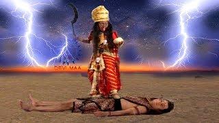 महाकाली का विनाशकारी क्रोध देख शंकर जी ने लिया ये फैसला - काली के रास्ते में शिव - Maa Devi