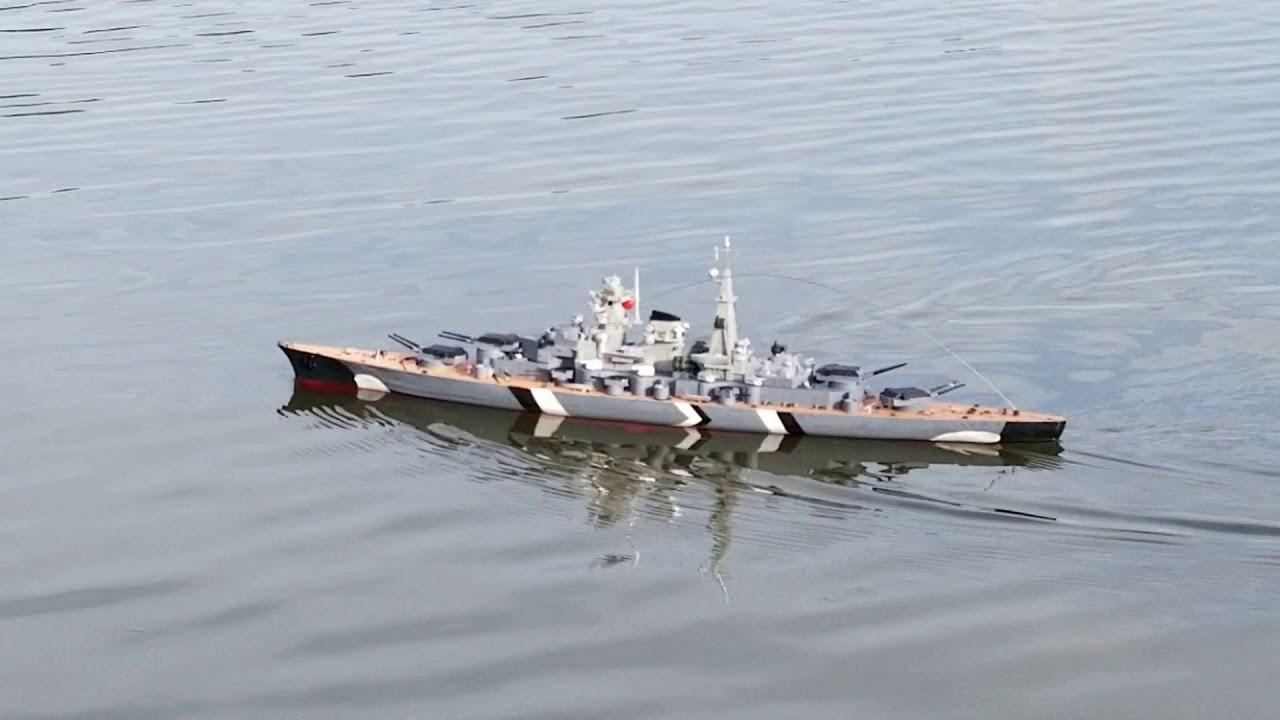 Bismark HT-3827A RC Battleship