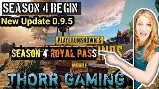 PUBG Mobile SEASON 4 ROYAL PASS    ACE RANK   HINDI GAME PLAY    THORR GAMING