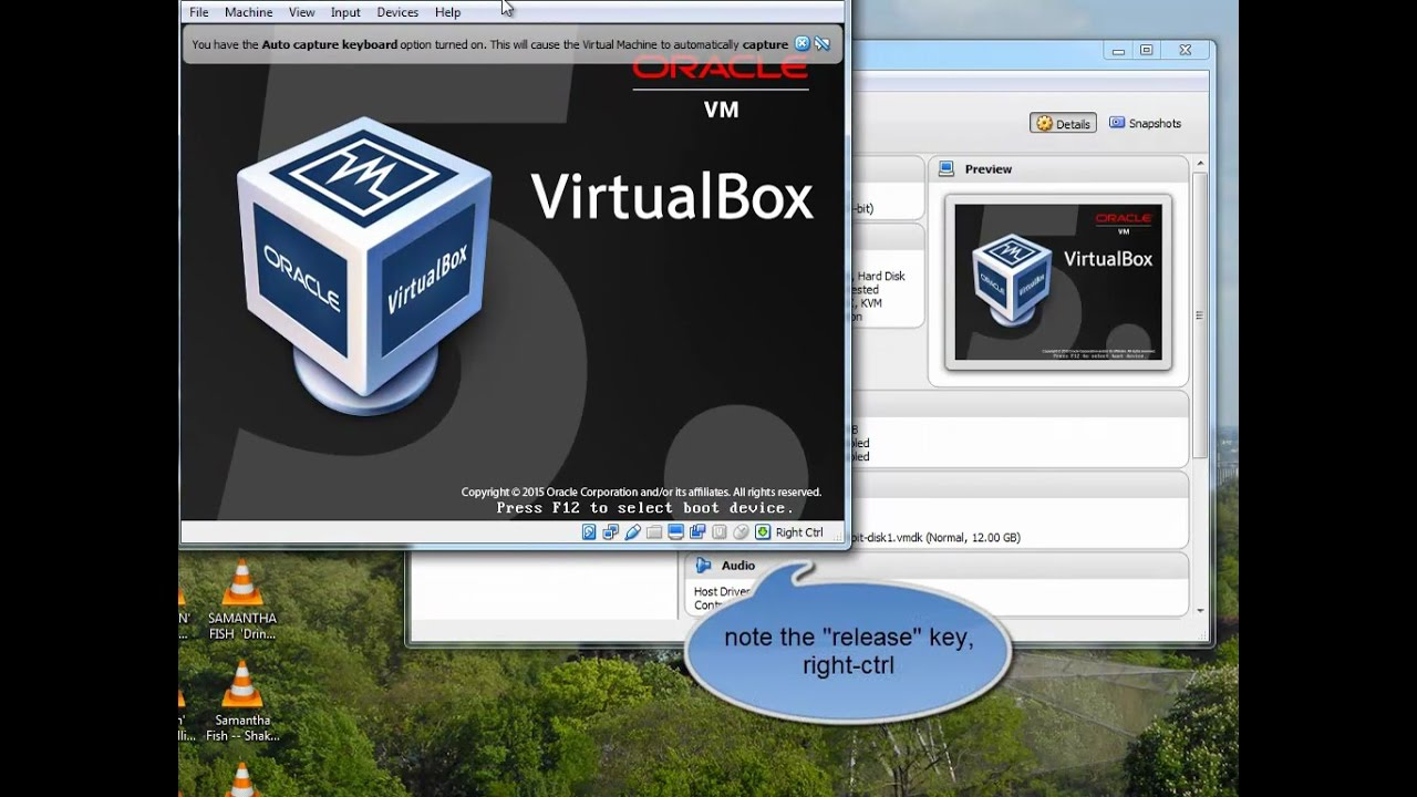 VirtualBox Download and Import Debian VM