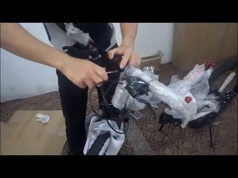 X6 Folding Mountain Bike Bicycle Youtube