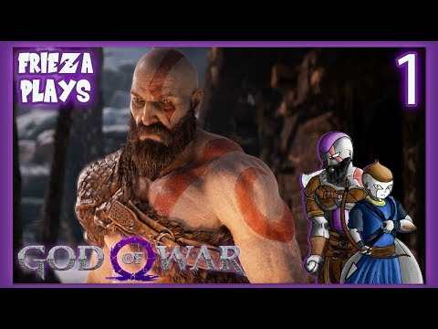 THE INTRO TO A LEGACY! FRIEZA PLAYS GOD OF WAR PART 1!