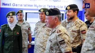 جلالة الملك عبدالله الثاني يزور هيئة الاتصالات الخاصة - (20-5-2019)