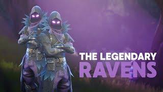 THE LEGENDARY RAVENS - NEW RAVEN SKIN! (Fortnite Battle Royale) #SoaRRC