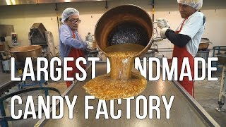 Largest Handmade Candy Factory