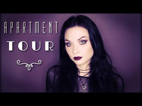 Apartment Tour! | the SaraMonster | Spooky Home Decor