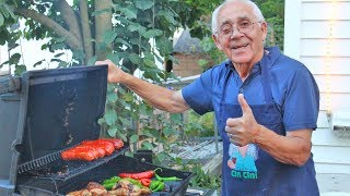 Chef Pasquale cooks up a BBQ! Chicken Sausage and Oh Yeah Baby