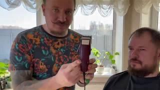 Стрижка машинкой дома пошаговый урок MOSER