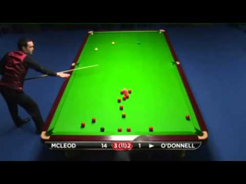 Rory McLeod - Martin O'Donnell (Full Match) Snooker UK Championship 2013  Round 1