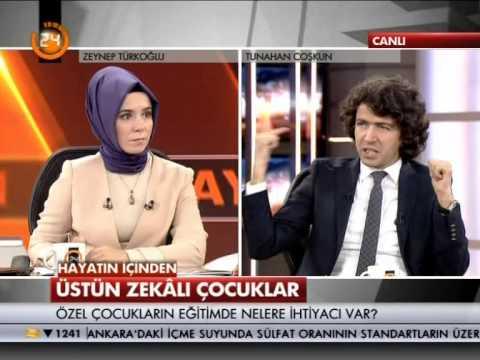 """TÜZDER """"Üstün Zekalı Çocuklar"""" (Kanal-24)"""