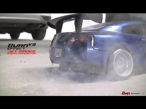 Burn Effect V3 RC Smoke Generator - DriftMission.com - RC Drifting MST MS-01D VIP CS