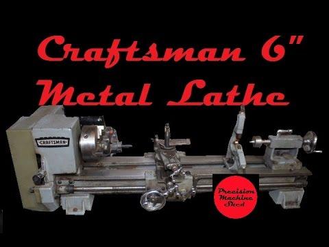 Atlas Metal Lathe Model 10100