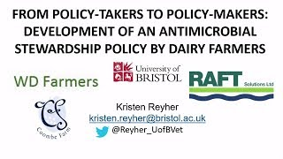 Development Of An Antimicrobial Stewardship Policy By Dairy Farmers