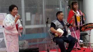 tsugaru shamisen 津軽三味線  played by Shibutani Kazuo   渋谷和生  minyo and teodori