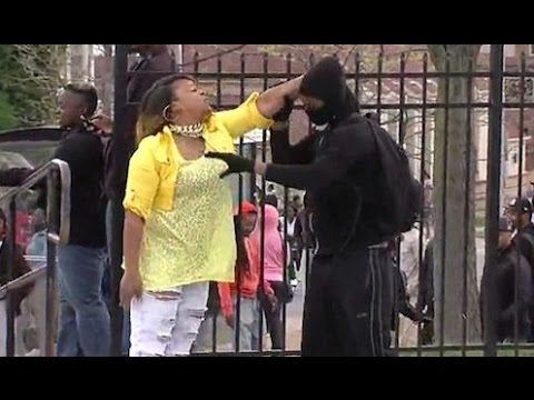 Baltimore Mom Whoops Son During Riot. Was She Wrong?
