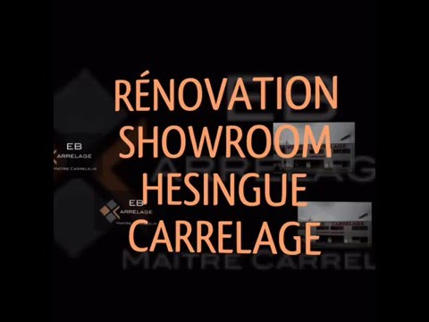 Showroom hesingue carrelage youtube for Hesingue carrelage