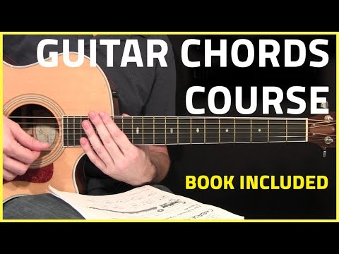 Guitar Chords Complete Course With Course Book!