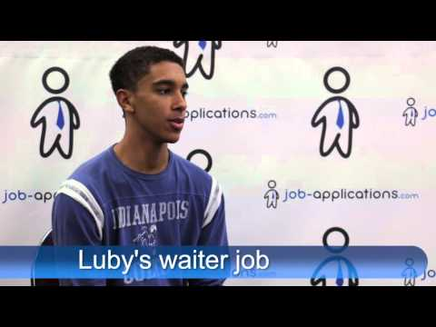 Luby's Cafeteria Interview - Waiter