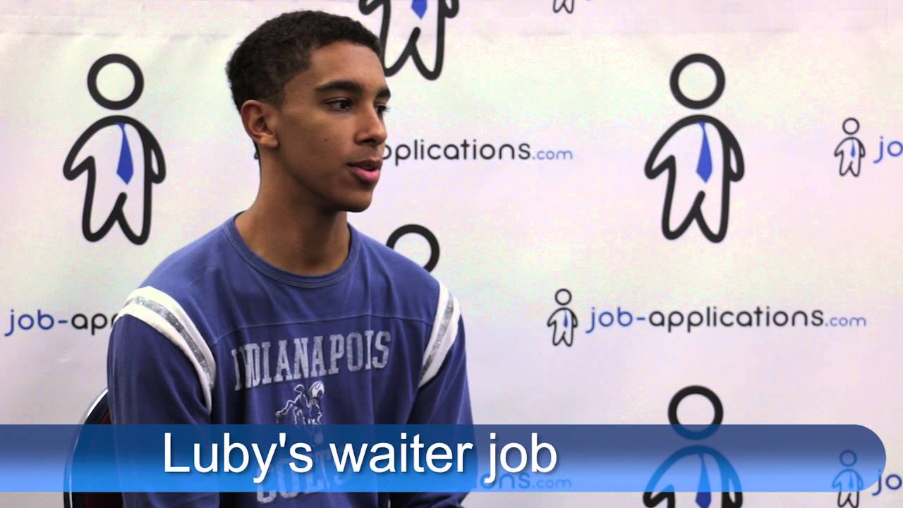 luby s cafeteria interview waiter luby s cafeteria interview waiter