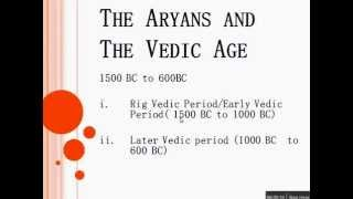 SSC CGL History- 3 Vedic culture  by We focus Classes