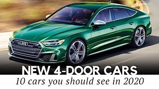 10 New Four-Door Cars Trying to Make Sedans Hot Again