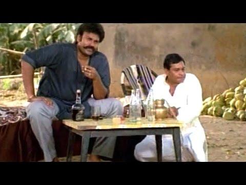M S Narayana And Surya Drink Sitting - Nagendra Babu, Ramya Krishna