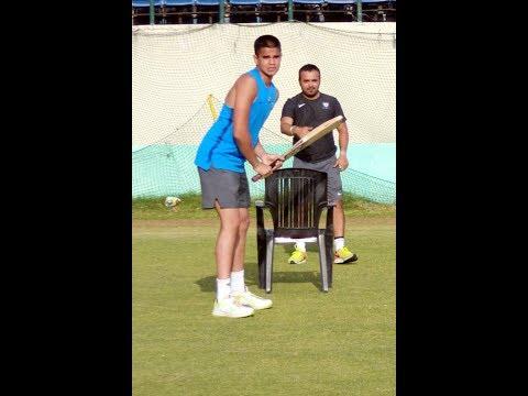 Arjun Tendulkar In Dharamsala For National Cricket Academy Camp