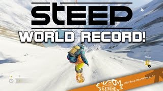 Steep beta WORLD RECORD! highest amount of points in 1 jump!