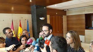 El secretario de Organización del PSOE de C-LM, Sergio Gutiérrez