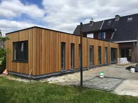 Fabulous Aanbouw & renovatie in houtskelet - YouTube NU92
