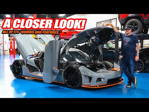 """A CLOSER LOOK At Randy's New Koenigsegg CCX! The """"Quirks And Features"""" of a HYPERCAR"""