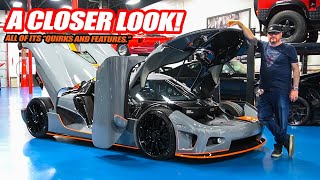 "A CLOSER LOOK At Randy's New Koenigsegg CCX! The ""Quirks And Features"" of a HYPERCAR"