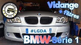 COMMENT VIDANGER UNE BMW SÉRIE 1 118D 👺 (+ CHANGEMENT FILTRE À AIR 🕶 )?