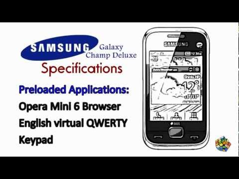 Samsung Galaxy Champ Deluxe - www.letmekeepitsimple.com