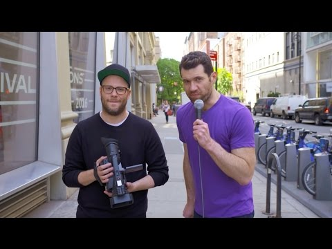 Billy on the Street: DEATH ROGEN! With Seth Rogen
