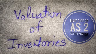 AS 2 VALUATION OF INVENTORY, CA FINAL FINANCIAL REPORTING