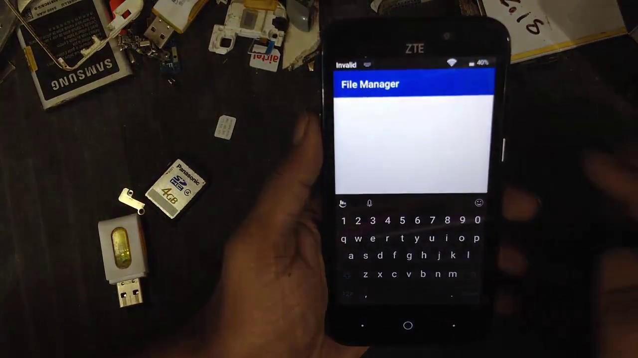 ZTE Z836BL FRP Bypass unlock