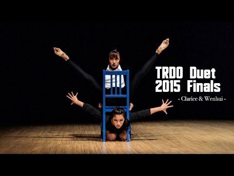 Clarice & Wenhui (1st Place) | TRDO Duet 2015 Finals | RPProductions
