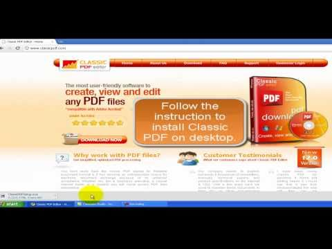 Classic PDF Editor | Best PDF Editing Software - PDF to Doc