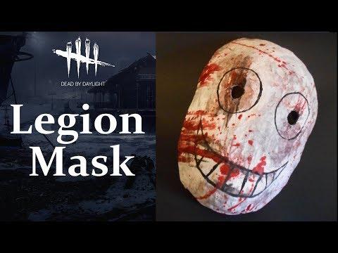 "Let's Craft: Dead by Daylight - ""Legion"" Mask - Frank"