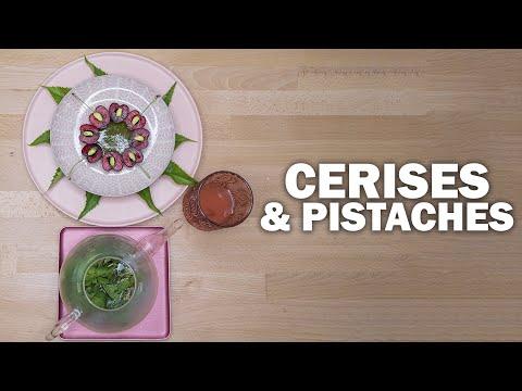 CERISES & PISTACHES by Guy Krenzer