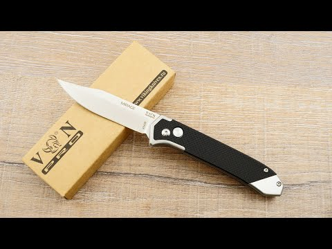 """Выкидной нож-автомат VN Pro """"Mirage"""" K543B. Обзор EDC ножа """"Мираж"""" от компании Viking Nordway"""