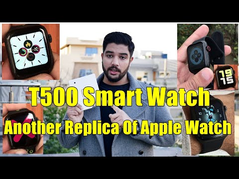 Apple T500 Smart Watch |Clone Of Apple Series 5 Watch| Almost Perfect Replica Of Apple Watch| (2020)
