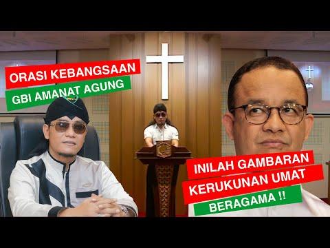 Gus Miftah Ceramah Di Gereja ?! ORASI KEBANGSAAN DAN KERUKUNAN UMAT BERAGAMA !!