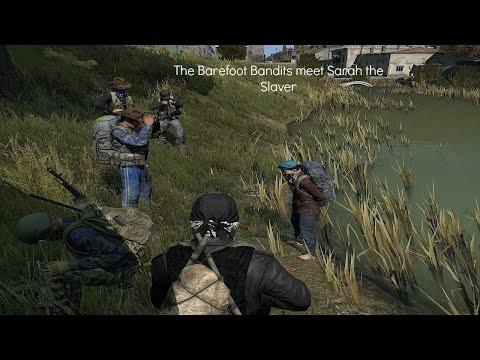 The Barefoot Bandits meet Sarah the Slaver