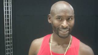 Bernard Lagat  After Round 1 of 2013 Worlds 5000m