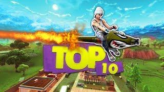 DE TOP 10 MEEST EPISCHE ROCKET RIDES!! - Fortnite Battle Royale Top 10 (Nederlands)