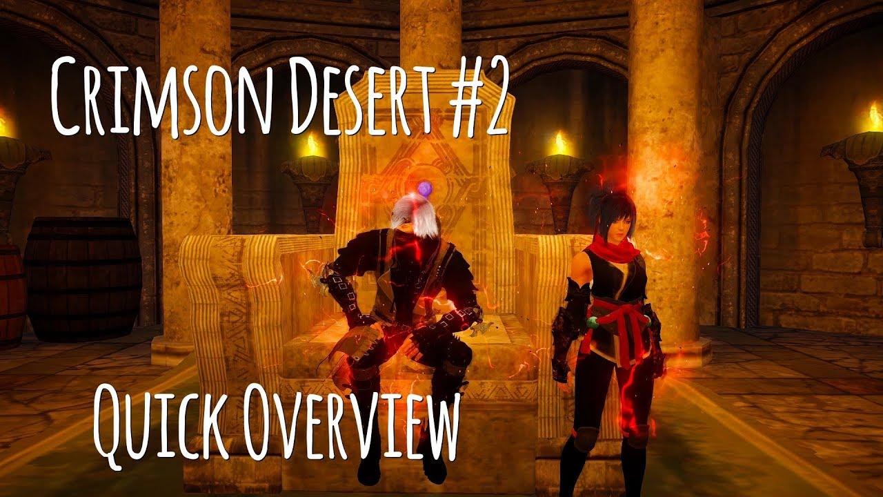 Crimson Desert Online #2 Quick Overview
