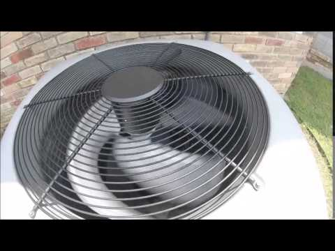 lennox 5 ton. the 2011 lennox elite series 5 ton central air conditioner starting up!