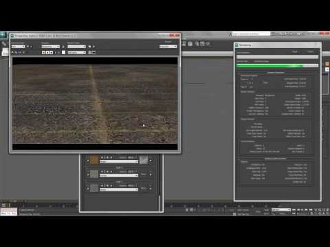How to texture large ground in 3DS Max (TUTORIAL)